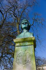 bust of Nicolai Lauritz Hvidt