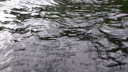 (Perfect Loop) Dark Angry Waters Closeup