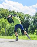 viel Dynamik beim Training mit Inline-Skates