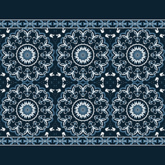 Seamless grunge pattern for textile