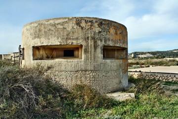 Fortificazione della II Guerra mondiale a Cagliari
