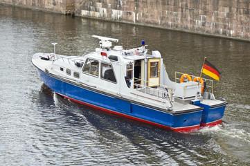 Polizeiboot - Wasserschutzpoilzei