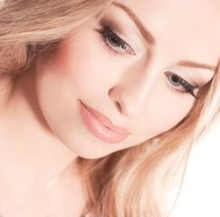 Beautiful girl closeup
