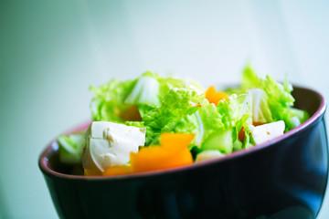 vegetable green salad