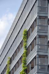 Parkhaus - Gebäudefront.