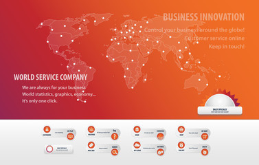 Online world company web