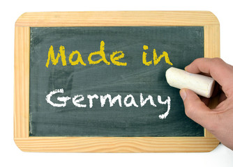 Made in Germany Tafel