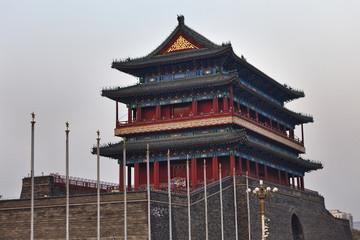 China Tiananmen South gate top
