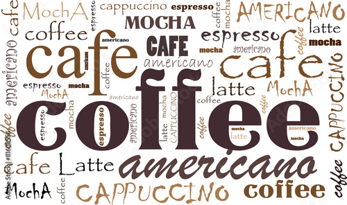 Coffee background - 81608556