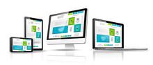 Web design concept. Vector