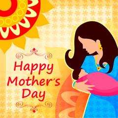 Happy Mother's Day celebration background