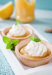 Lemon Curd Tartelettes