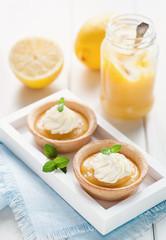Lemon Curd Tartelettes IIII