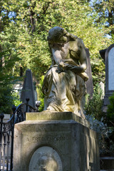 Paris - Pere Lachaise cemetery, Tomb of Frederic Chopin
