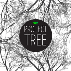 poster protect tree