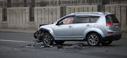 after Crash  airbag
