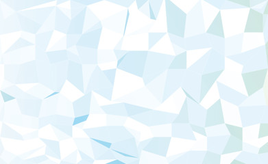 abstract blue low poly pattern background