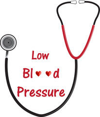 Low Blood Pressure Illustration