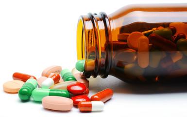 Kapseln, Tabletten und Pillen aus Glas