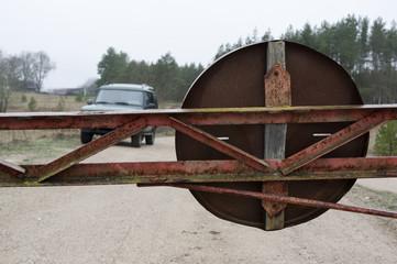 Rusty Barrier