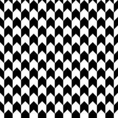 Retro Corner Pattern Seamless Black/White