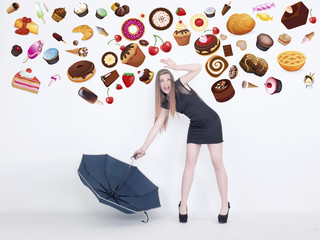 Rain of sweets
