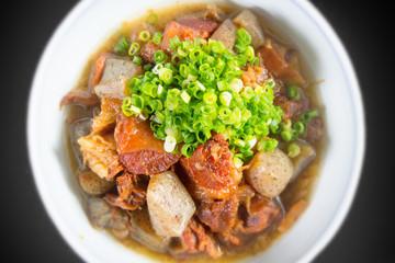 もつ煮込み Stew Japanese food of the organ meat