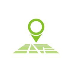 Icono mapa ubicación color FB