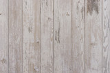 Fototapety White wooden boards with shabby look