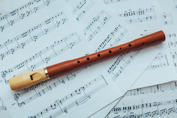 recorder and mucis notes
