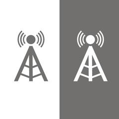 Icono antena torre BN