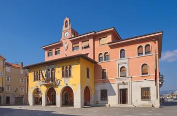 Rathaus von Muggia / Friaul / Italien