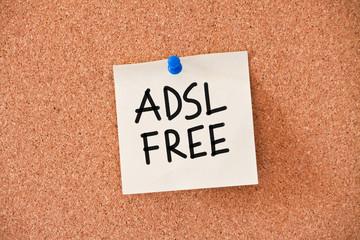 memo: adsl free