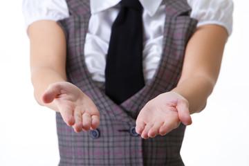 Hands of Businesswoman
