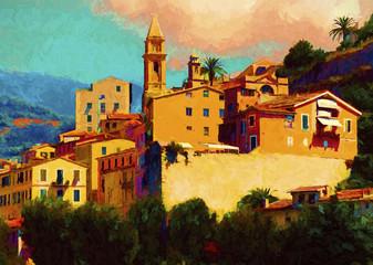 Liguria landscape