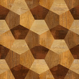 Abstract paneling pattern - seamless pattern - parquet flooring