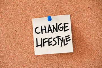 memo: change lifestyle
