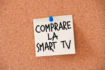 memo: comprare la smart tv