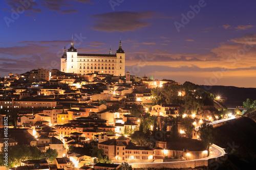 Fotobehang Madrid Toledo is capital of province of Toledo, Spain.