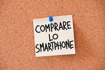 memo: comprare lo smartphone
