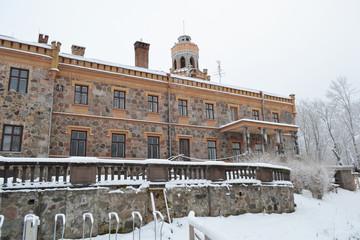 Old castle in Sigulda, Latvia.
