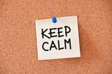 memo: keep calm poster