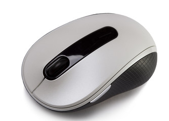 computer mouse on a white background..
