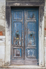 Italian door knocker in the shape of a lion's head