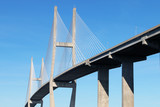 Suspension bridge at Brunswick, GA