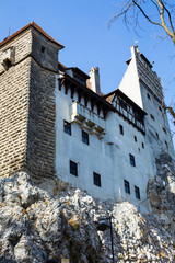 Bran Castle in Romania known for the story of Dracula