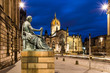 David Hume sculpture in front of St Giles Cathedral - 81631927
