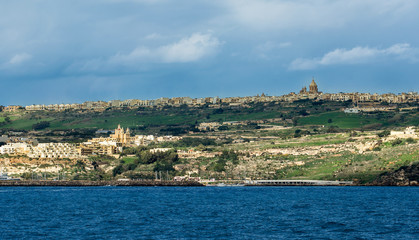 Scenic view from Malta