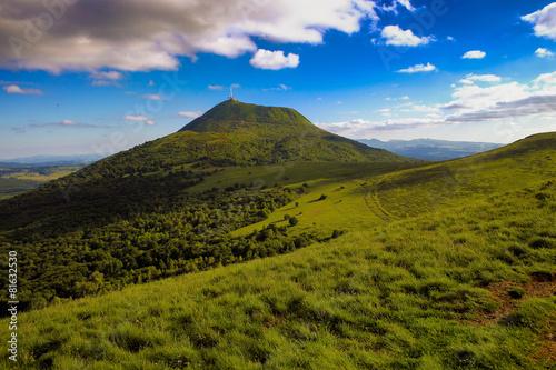 Keuken foto achterwand Vulkaan puy de dôme