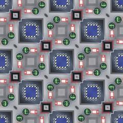 Technology Seamless Background
